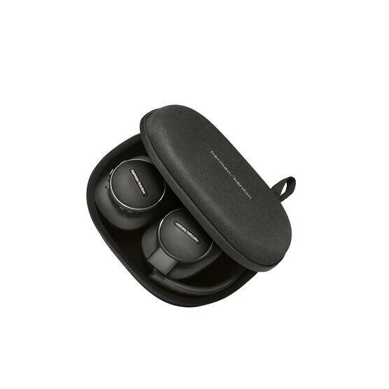 Harman Kardon FLY ANC - Black - Wireless Over-Ear NC Headphones - Detailshot 9