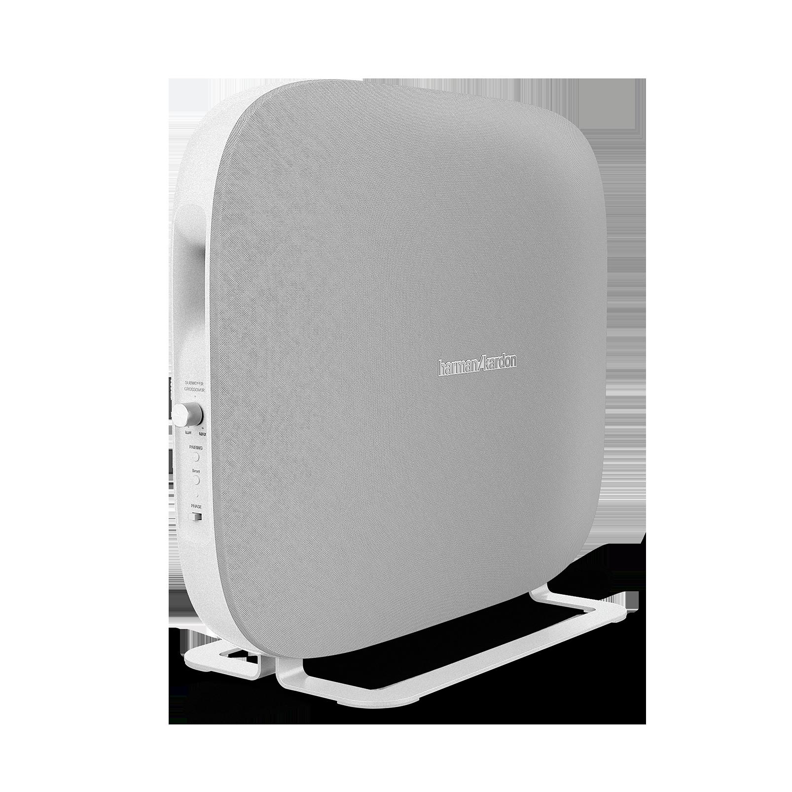Omni Bar Plus - White - Wireless HD Soundbar - Front