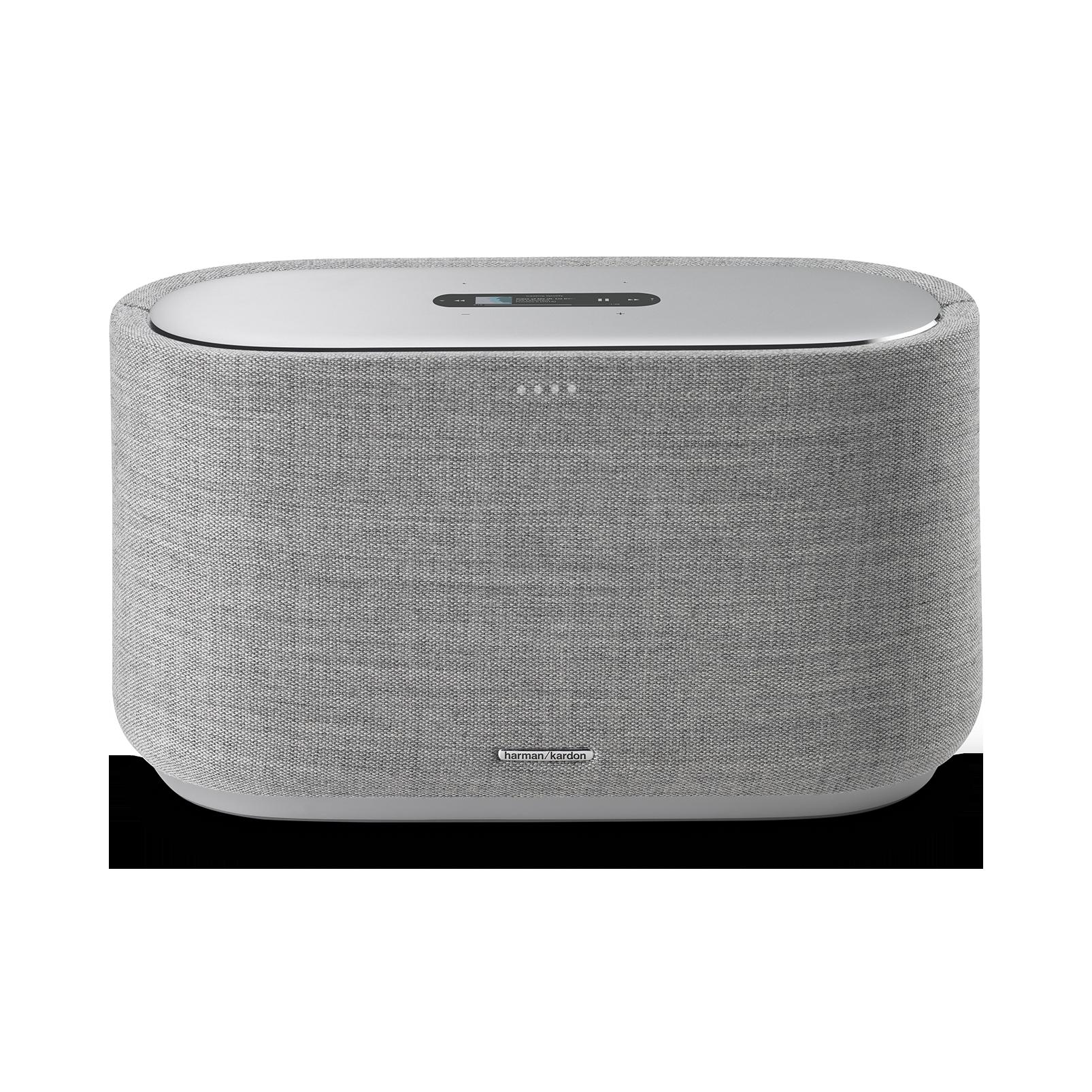 Harman Kardon Citation 500 - Grey - Large Tabletop Smart Home Loudspeaker System - Front