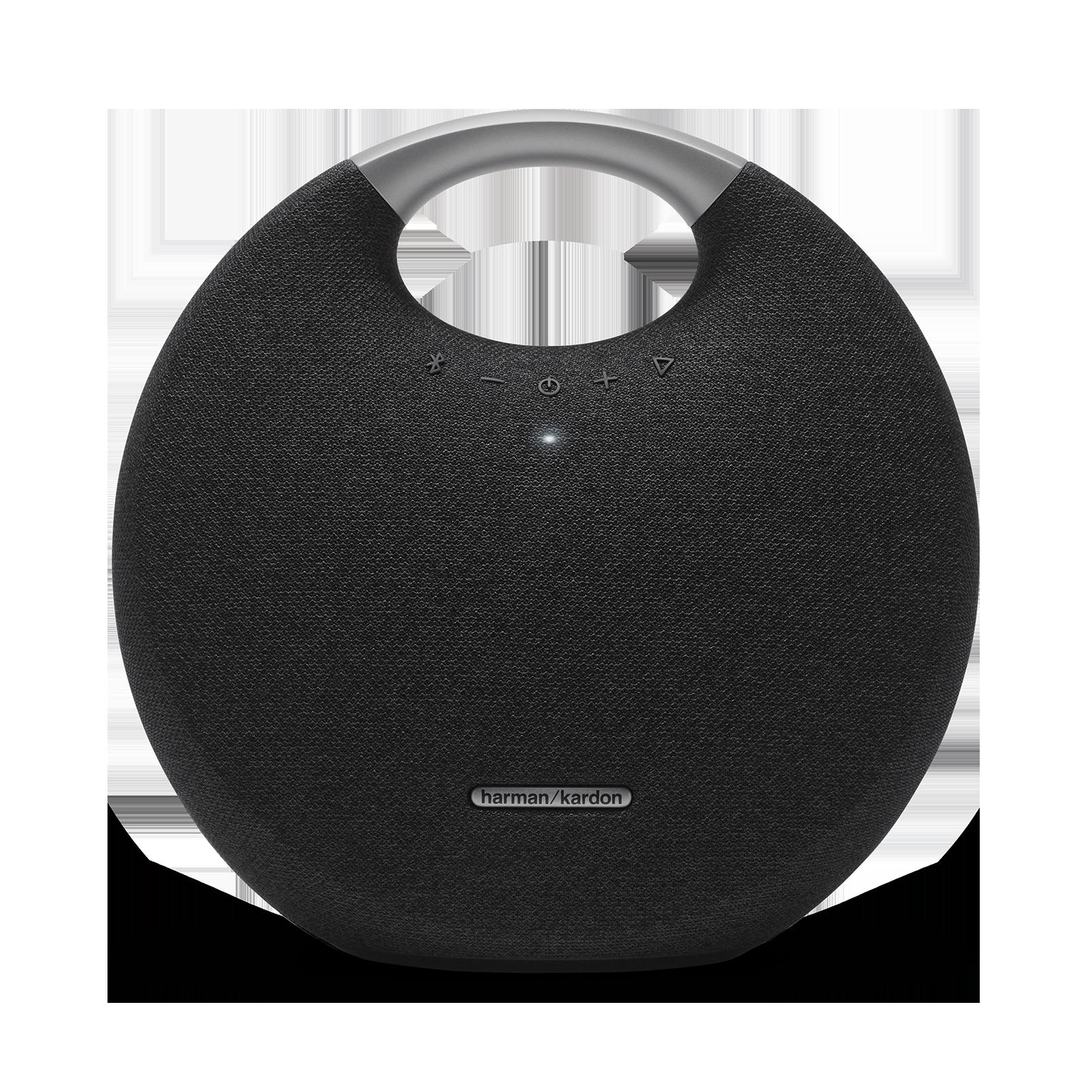 Onyx Studio 5 - Black - Portable Bluetooth Speaker - Front