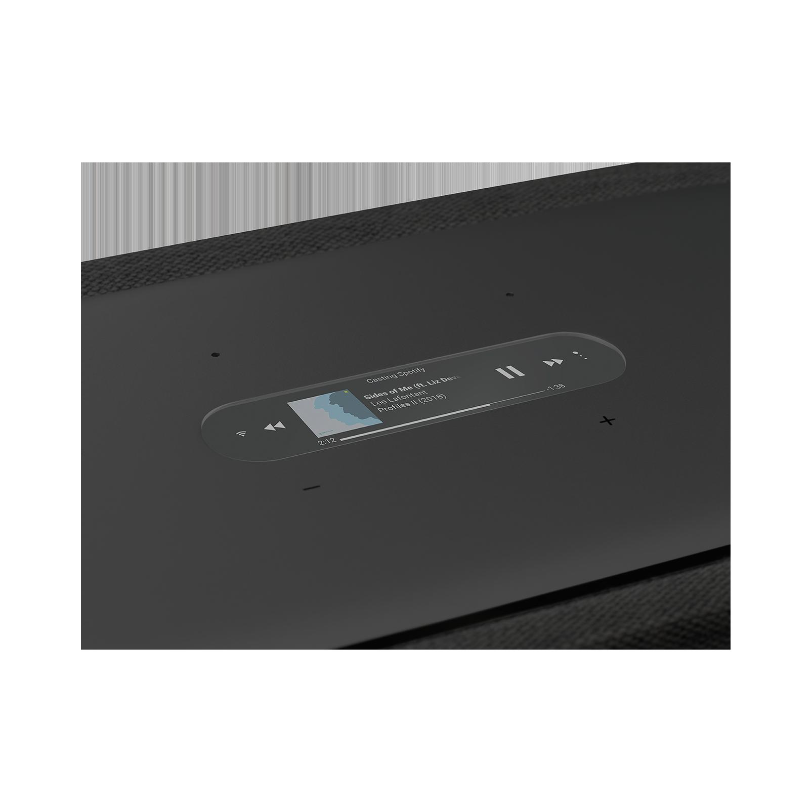 Harman Kardon Citation 500 - Black - Large Tabletop Smart Home Loudspeaker System - Detailshot 1