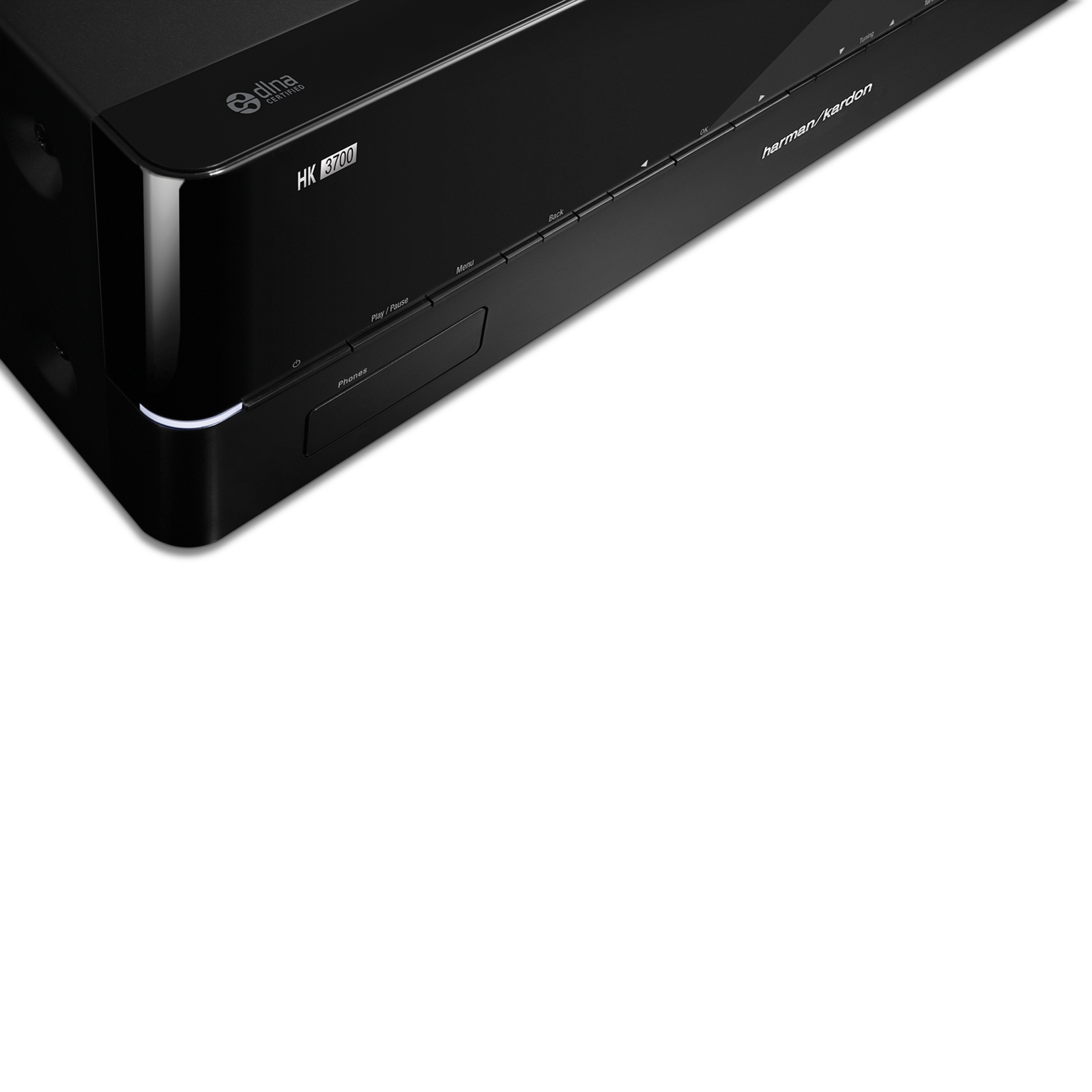 HK 3700 - Black - 170 watt stereo receiver with network connectivity - Detailshot 2