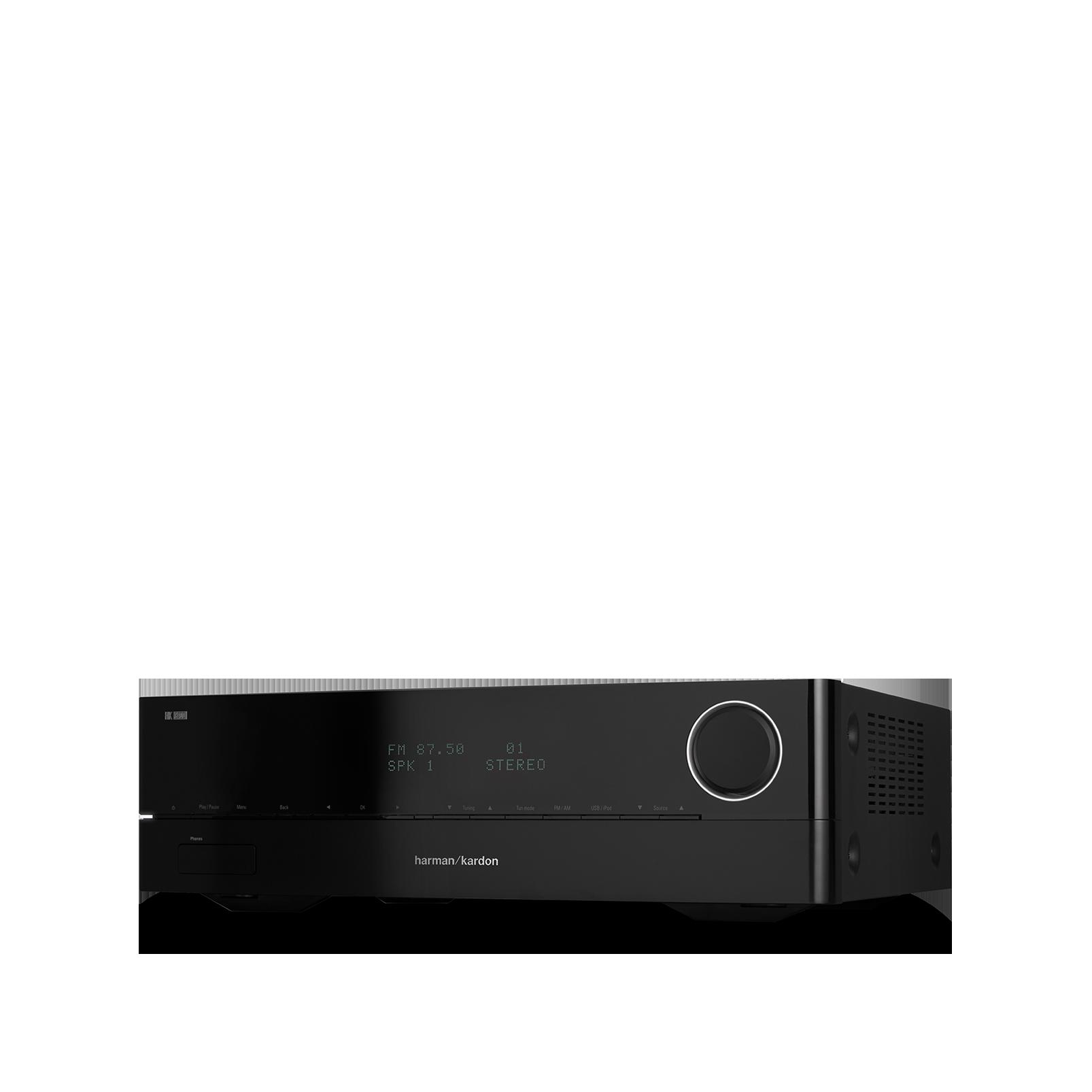 HK 3700 - Black - 170 watt stereo receiver with network connectivity - Detailshot 3