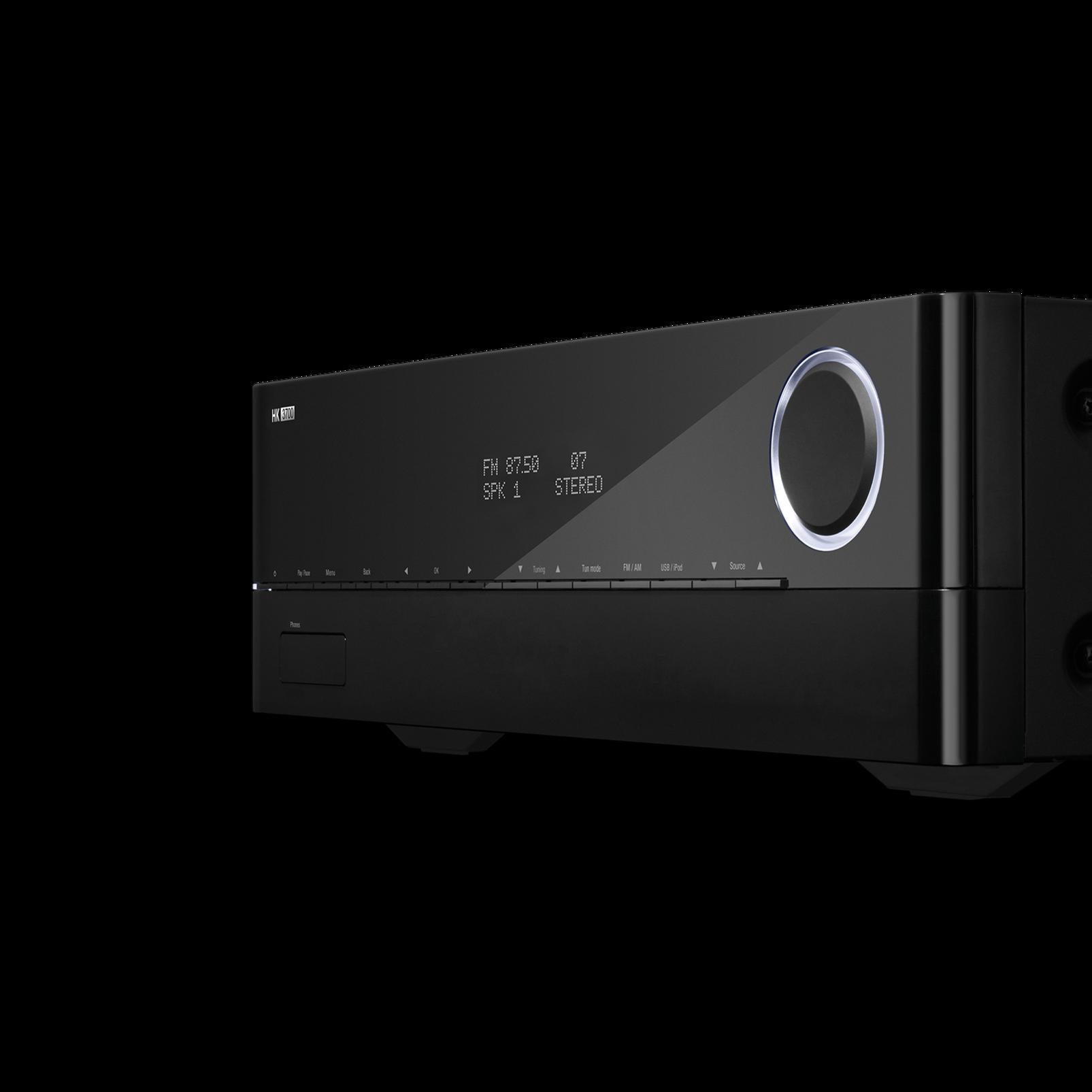 HK 3700 - Black - 170 watt stereo receiver with network connectivity - Detailshot 1