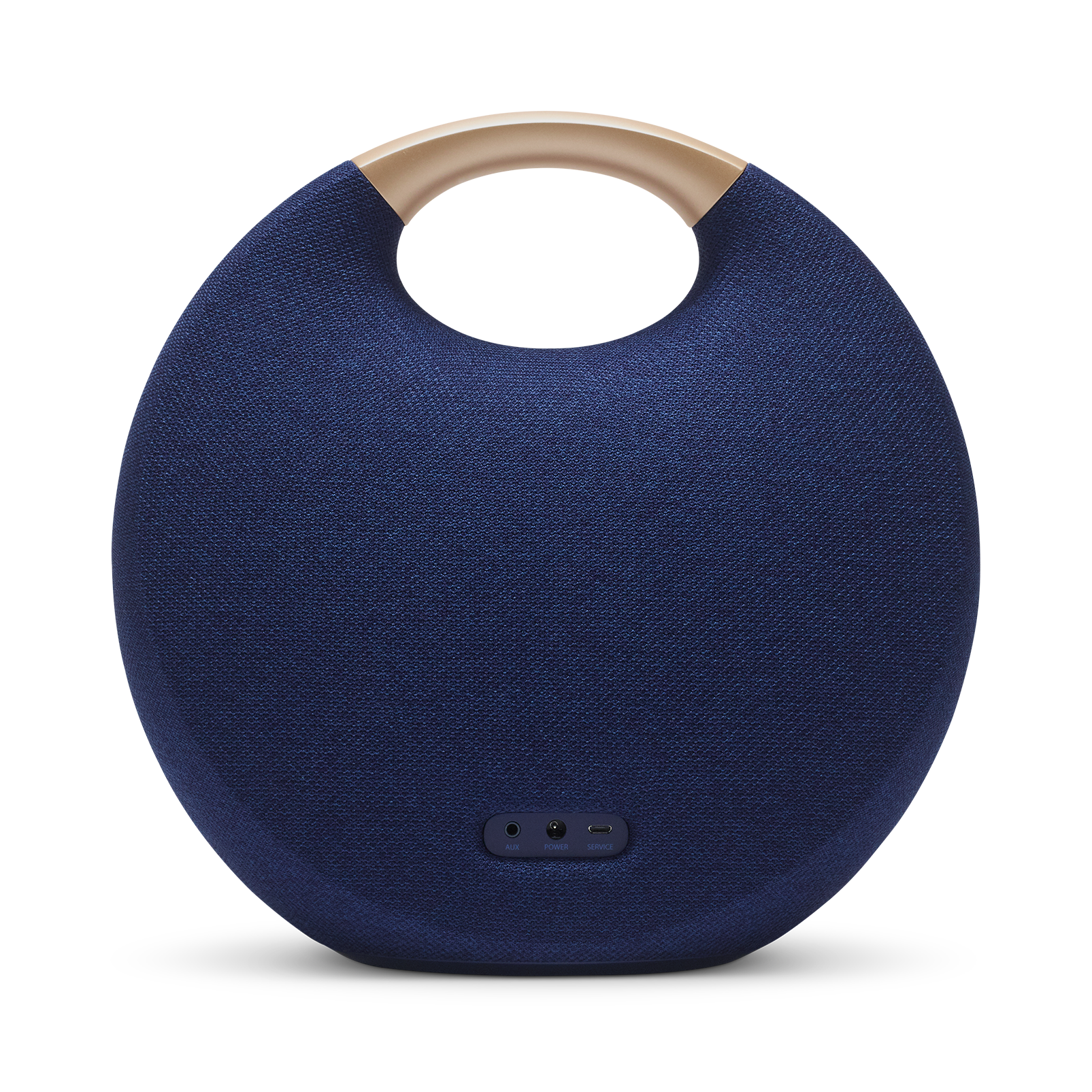 Onyx Studio 5 - Blue - Portable Bluetooth Speaker - Back